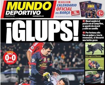 Portada 'Mundo Deportivo'.